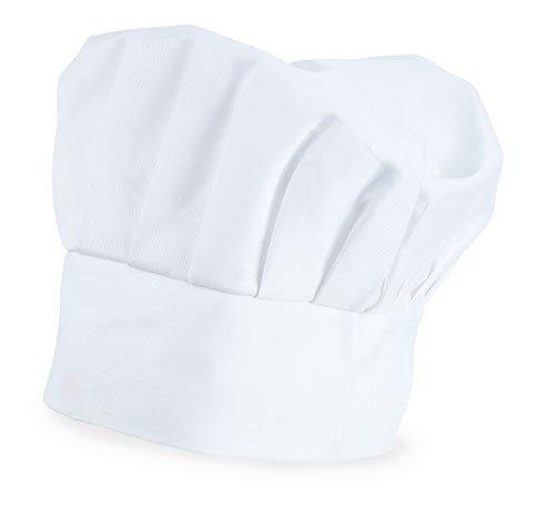 My Custom Style Gorro Chef Ajustable Blanco, ALGODÓN, No Impreso
