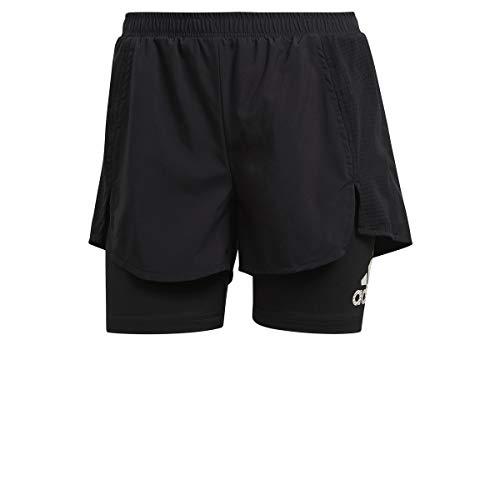 adidas W AT SHO shorts (1/4), black/black, XS Womens