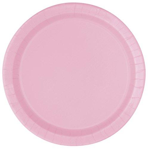 rosa tallrikar ikea