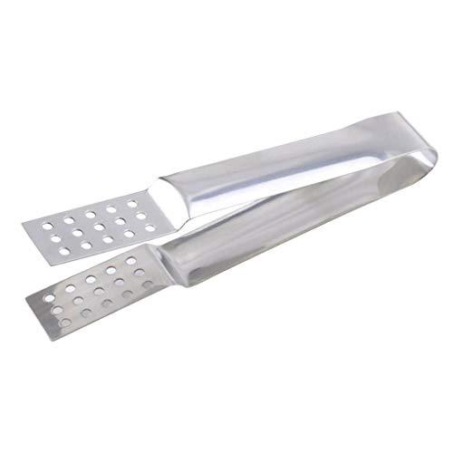 Edelstahl Teebeutel Filter Squeezer Sieb Zuckerbrot Lebensmittel-Klipp-Halter für Heim
