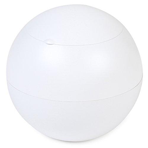 WINDMILL(ウインドミル) 灰皿 ハニカム灰ボール 卓上 18本収納 ホワイト 602-0001