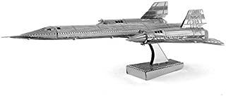 Fascinations Metal Earth SR-71 Blackbird Airplane 3D Metal Model Kit