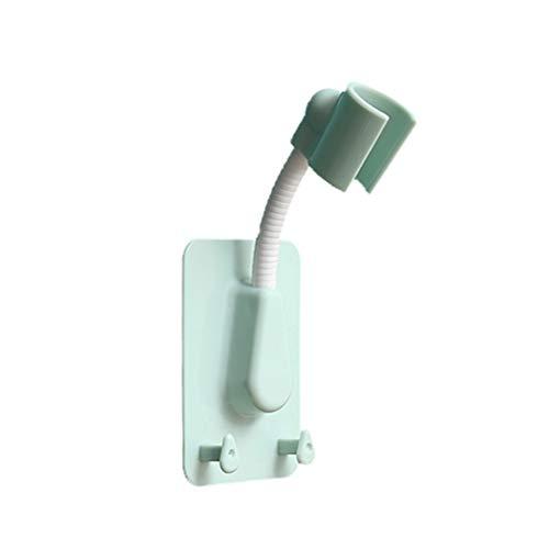 Soporte universal ajustable para cabezal de ducha, soporte de pared de ducha, soporte de pared de ducha, fuerte succión giratorio sin punzones, soporte de ducha de mano para baño y hogar