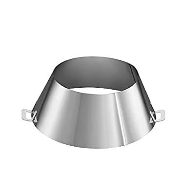"LUTANI 12"" BBQ Vortex for Weber - Barbecue Kettle Grills 22 26.75 WSM - Stainless Steel Barbecue Kettle Grill Accessories (12"" diametter x 4"" Height)"