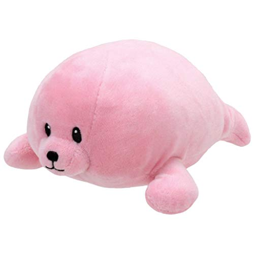 TY 32159 Seal Baby Plüsch-Doodles Robbe, 17 cm, rosa