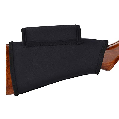 Pridefend Neoprene Gun Stock Cover Cheek Rest Riser for Shotgun Rifle Hi-Density Foam Inserts
