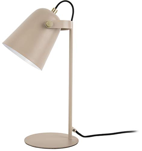 Present time - Lampe à poser fer beige mat STEADY
