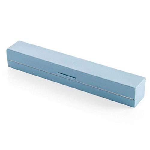 Lankater Cling Film Dispenser Cutter Kunststoff Konservierender Film-Speicher-Halter Küchenzubehör Zufällige Farbe