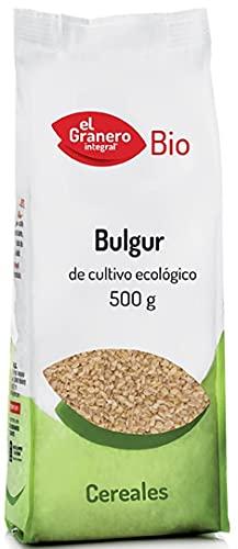 Bulgur de trigo Ecológico, Bio. 100% natural. Caja 4 x 500g (Total 2Kg). El Granero
