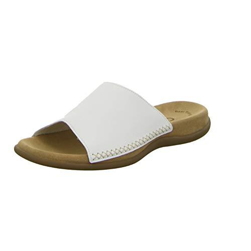 Gabor Shoes Damen Gabor Cervo Pantoletten, Weiß (weiss), 40 EU