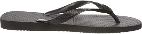 Havaianas Men's Top Flip Flop Sandal, Black, (9-10 M US Women's / 8 M US Men's)