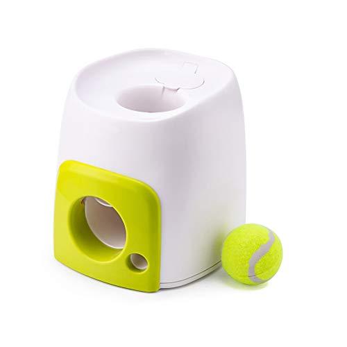Knowooh Automatischer Ballwerfer Intelligenzspielzeug Ballmaschine Interaktives Haustierspielzeug Hunde Ballwurfmaschine