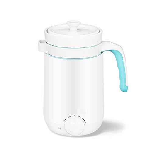 TINKOU Multifunktions-Wasserkocher, Ceramic Liner Anti-Dry Burning Automatischer Wasserkocher, Geeignet für den täglichen Haushalt 90W 220V,Blau