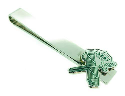 Gemelolandia Pasador de Corbata Guardia Civil Haz de Lictores y Espada Verde   Pisa Corbatas Para usar en Bodas y en Eventos formales - Da un toque Elegante