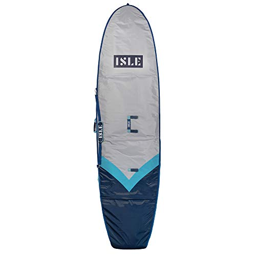 """ISLE 10'6"""" SUP Day Bag for Storage & Transport — Padded Carry Case for Epoxy, Rigid Paddle Boards"""