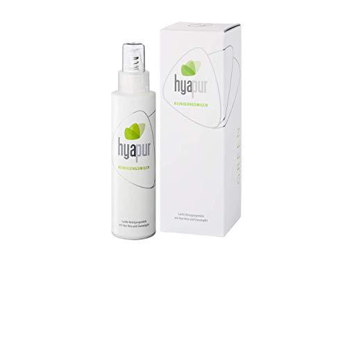 hyapur® - GREEN Reinigungsmilch 150ml - Die sanfte Gesichtsreinigung - zur Anti-Aging-Pflege mit Bio- Vegan- Natur- Kosmetik aus Berlin