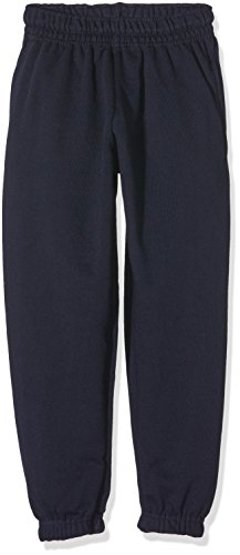Fruit of the Loom Kinder Hose Classic Jog Pants, Blau (Deepnavy Az), 140