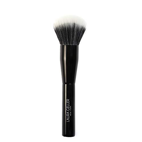 LAURA GELLER NEW YORK Full Face Powder Brush, Black Wooden Handle