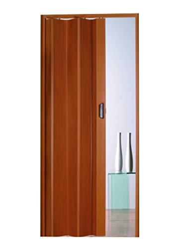 Kunststoff - Falttür Monica buche pastell 83x204 cm doppelwandig