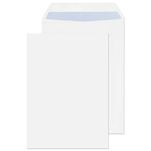 Purely Everyday FL3893 - Buste formato C5, Chiusura adesiva, 90 g/mq, Bianco, 229 x 162 mm, Confezione da 500