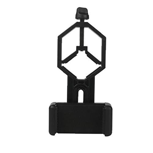 del Metal del Montaje Adaptador Telescopio teléfono móvil Trabajo Negro con Binocular monocular Telescopio Microscopio para iPhone Samsung HTC Equipo al Aire Libre