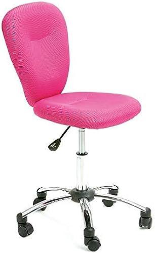 Unbekannt Lounge-Zone Kinder-Schreibtischstuhl Drehstuhl Peggy Rosa h nverstellbar für den Schulanfang 7520