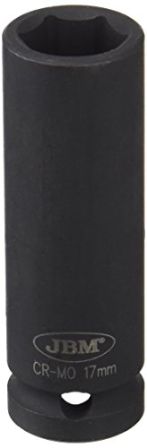 'Long JBM 12066 – Douille à chocs 6 pans 1/2, 17 mm)