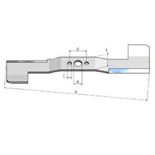 Messer Ersatzmesser für HONDA Rasenmäher IZY HRG 465