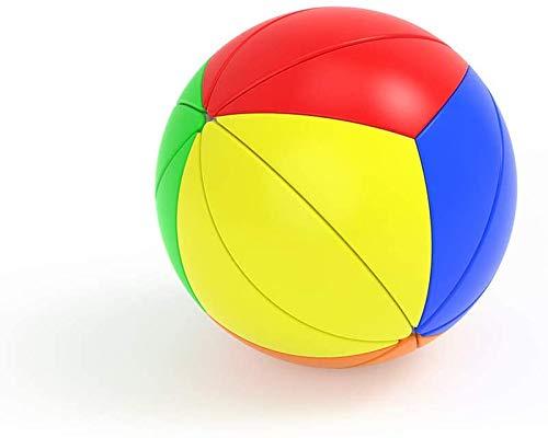 Juguetes educativos del Cubo Hoja de Arce esférica Bola de la Hoja de Arce Cubo mágico 3 Finas para niños Maple Leaf