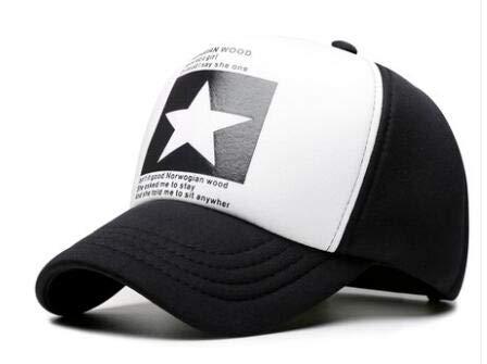 Nueva Gorra de béisbol de Moda para Mujer, Sombrero de Hip Hop Transpirable, Sombrero de Malla Informal de Verano, Sombrero de Bala rápida para Hombres y Mujeres-a3-55-60cm