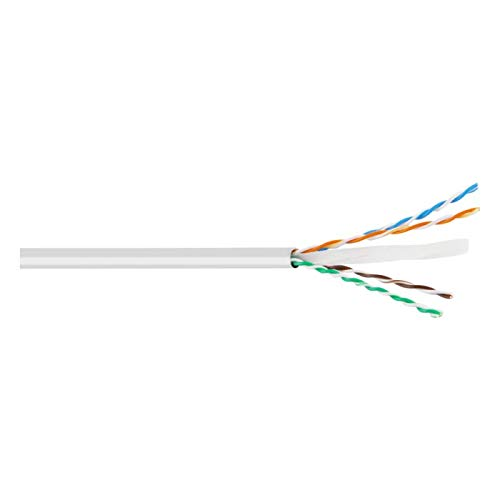 UTP-kabel, CAT6, CU, 30 m, wit