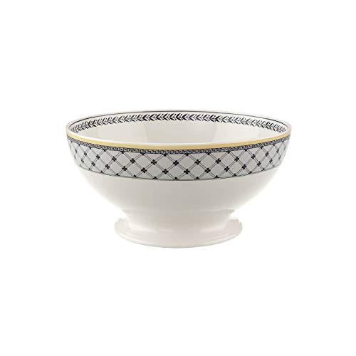 Villeroy & Boch Audun Ferme Schüssel, Premium Porzellan, Weiß/Mehrfarbig, 23.5 cm