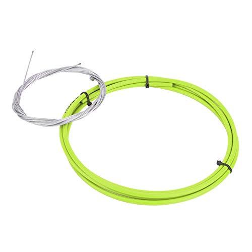 DAUERHAFT Juego de Cables de Cambio de Bicicleta de Acero con Alto Contenido de Carbono antioxidante Cable de Cambio de Ciclismo, para Bicicleta de montaña, Bicicleta de(Green)