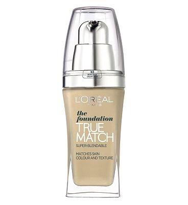 L'Oréal Paris Fond de Teint True Match Ambre N7 AMBER