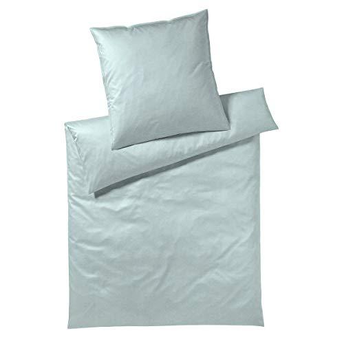 Covered Ropa de cama Solid Mint 1 funda nórdica de 155 x 220 cm y 1 funda de almohada de 80 x 80 cm