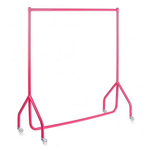 Perchero para ropa infantil, color rosa, 1,22 m de largo x 1,22 m de alto, para niños