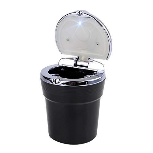 yaya Asbak Auto Asbak met LED Licht Sigaret Rook Reisverwijderaar Ash Cilinder Auto Rookloze Smoke Cup Houder Auto Accessoires Binnen en buiten