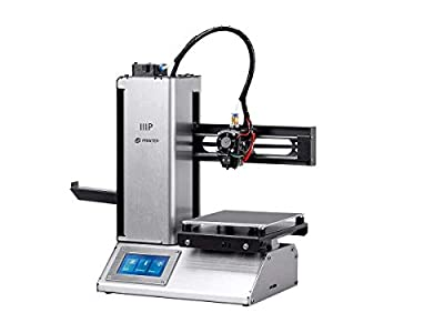 MP Select Mini Pro 3D Printer - Aluminum - Auto Level Heated Bed Touch Screen Wifi (UK Plug) by Monoprice