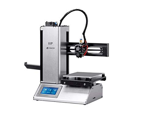 Monoprice MP Select Mini Pro 3D Printer - Aluminum - Auto Level, Heated Bed, Touchscreen, Wi-Fi (UK Plug)