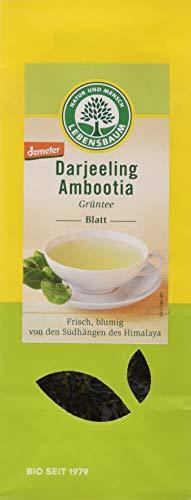 Lebensbaum Grüntee Lose - Darjeeling Ambootia -Blatt, 50 g