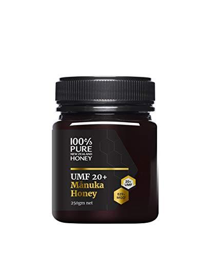 100% Pure New Zealand UMF 20+ (MGO 829+) Manuka Honey 250 Gram | New...