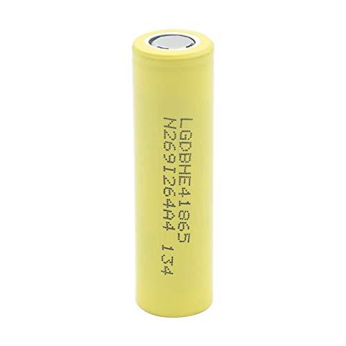 WSXYD Batería del Alto Drenaje 18650 He4 De 3.7v 18650 2500mah 35a, Recargable para El Banco del Poder De La Linterna 1Pc