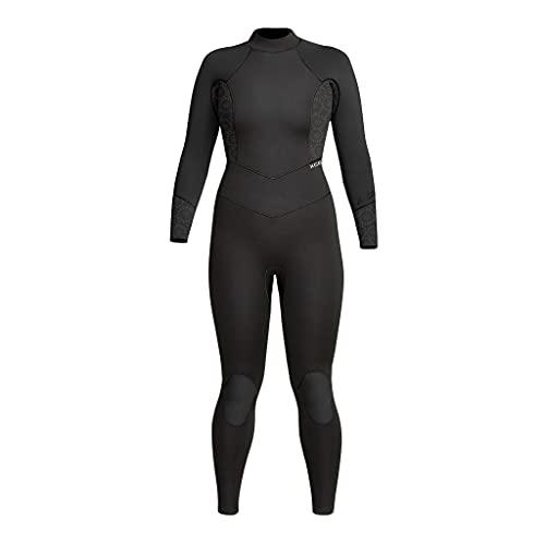 Xcel Axis OS Wetsuit 4/3mm Rug Rits - dames - zwart/bloem (4)
