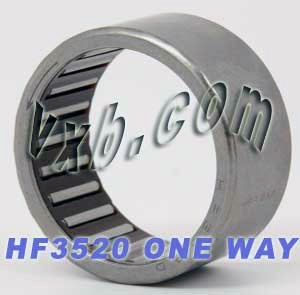 HF3520 One Way Needle Bearings 35x42x20 National uniform free Spring new work shipping Bearing Clutch
