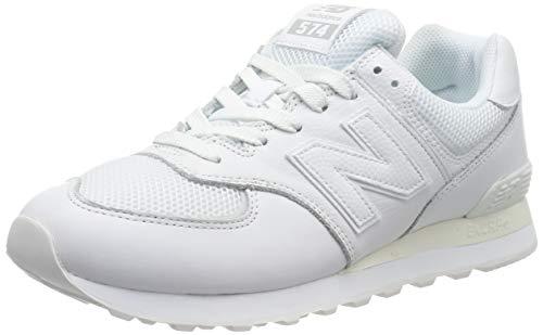New Balance 574v2, Zapatillas Hombre, White, 36 EU