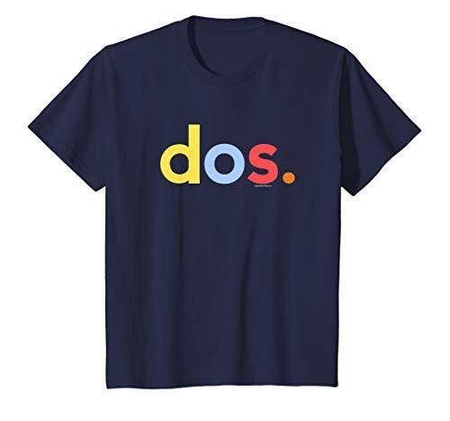 Kids 2nd Birthday Shirt Boy 2 Year Dos Anos | Spanish Gift Tee T-Shirt