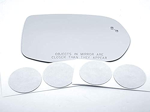 for 17-19 CR-V Right Pass Mirror Glass Lens w/Blind Spot Detect Icon w/Adhesive