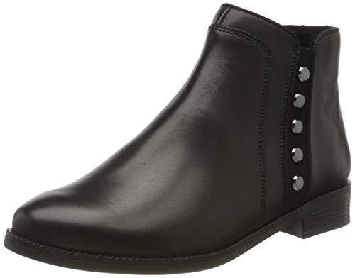 Remonte Damen R6379 Chelsea Boots, Schwarz (Schwarz/Schwarz 01), 39 EU