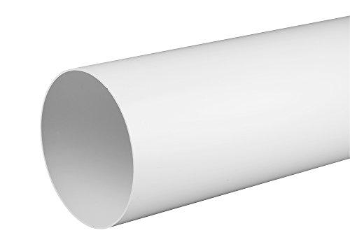Lüftungsrohr Rundrohr Rundkanal Ø 150 , 1,0 m Abluft-Rohr Awenta