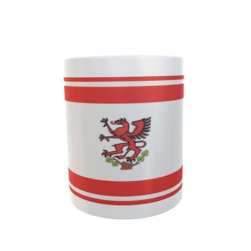 U24 Tasse Kaffeebecher Mug Cup Flagge Greifswald